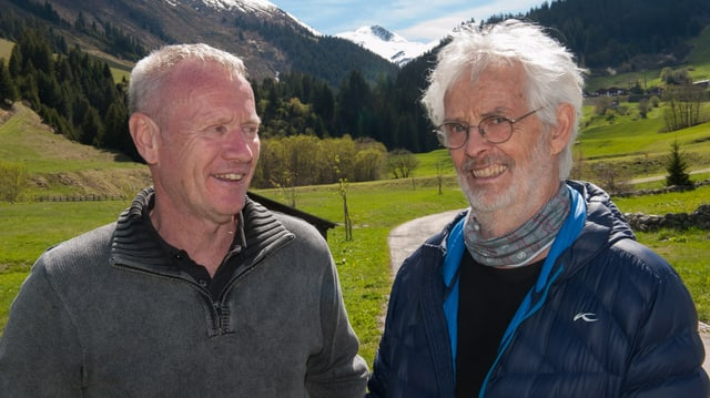 Rene Wieser (schef dal percurs), Bernhard Brägger (president dal comité d'organisaziun).