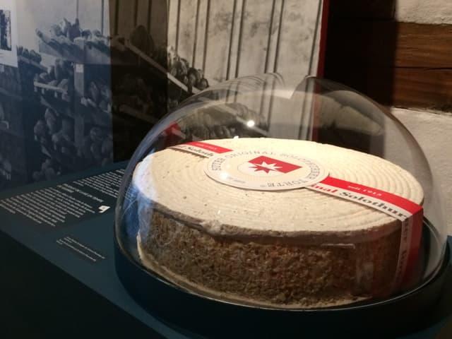 Eine Solothurner Torte im Museum
