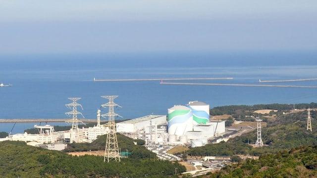 L'ovr'atomara a Sendai en Giapun.