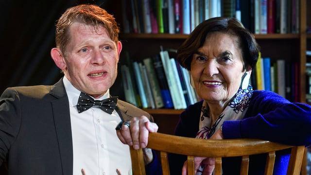 Marcus Signer und Ruth Binde (Bildmontage)