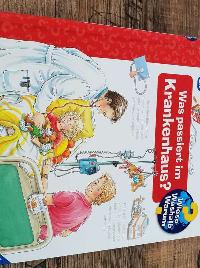 Was passiert im krankenhaus - Wieso, weshalb, warum Buch