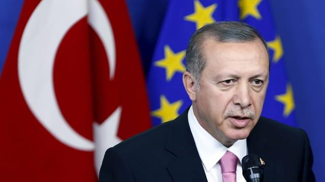 Der türkische Präsident Recep Tayyip Erdogan
