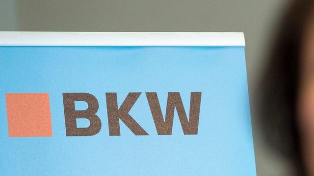 Purtret dal logo da BKW.