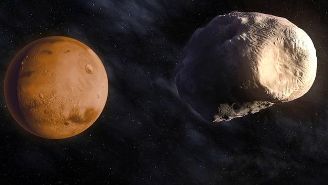 Die Monde des Mars