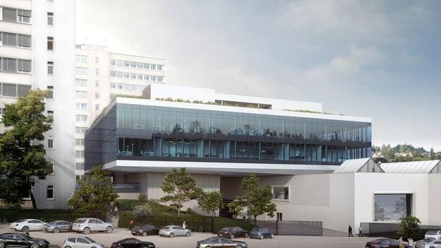 Visualisierung des Innovations-Campus in Uzwil bei Bühler