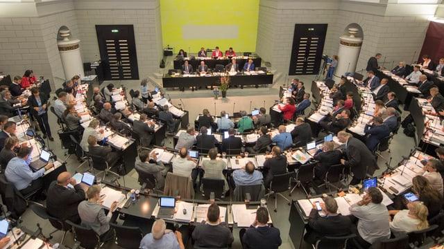 Parlamentsmitglieder des Luzerner Kantonsrates