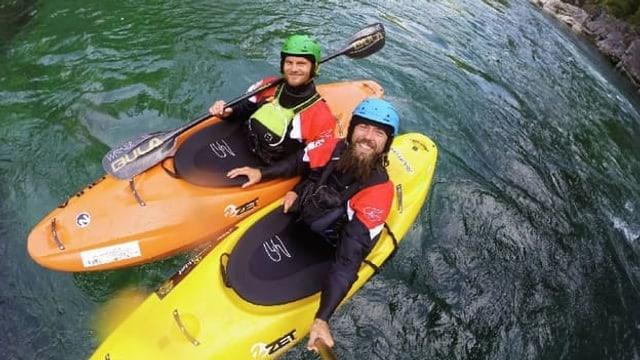 Video «Kajak extrem: Abenteuer auf wildem Wasser» abspielen