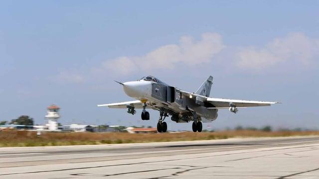 Russischer Kampfjet in Syrien