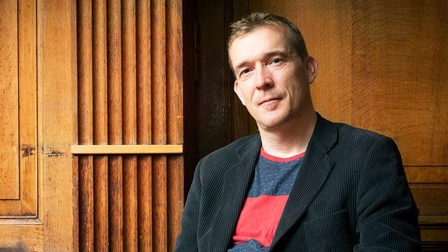 Portrait des Schriftstellers David Mitchell.