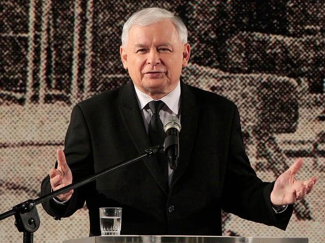 Der polnische Politiker Jaroslaw Kaczynski