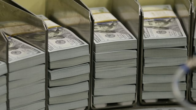 Bancnotas da dollars.