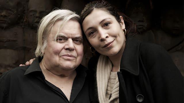 HR Giger mit seiner Frau Carmen Giger.