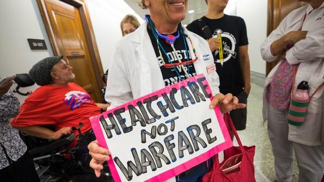Per bleras persunas en ils Stadis Unids è «Obamacare» d'impurtanza existenziala.