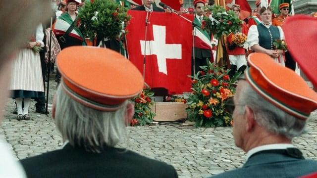Mitglieder einer Schweizer Studentenverbindung (Symbolbild).
