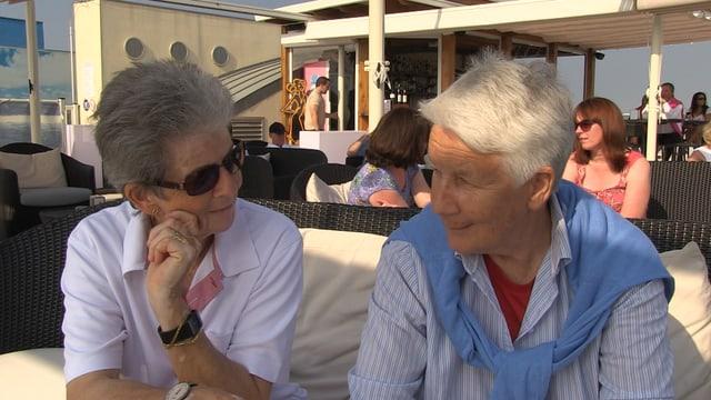 Seit vielen Jahren ein eingespieltes Team: Rösli Dönni und Heidi Furrer