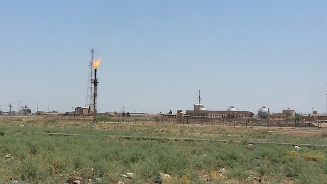 Überblick über Öl-Raffinerie.
