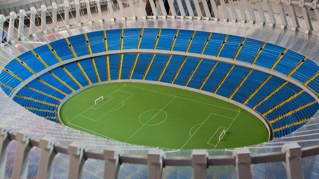 Das Olympiastadion in Kiew.