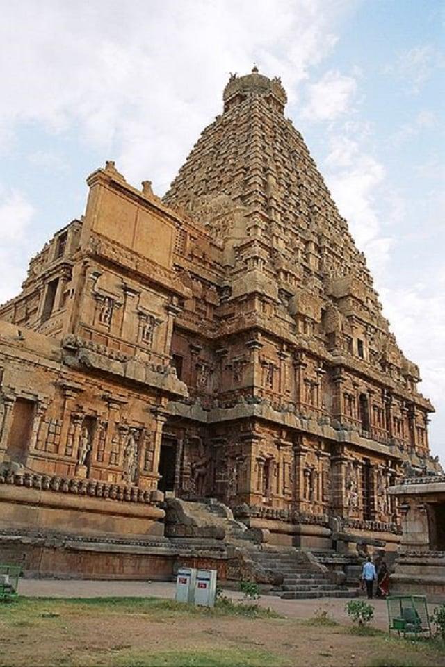 Tempel dals hindus a Tanjore en l'India