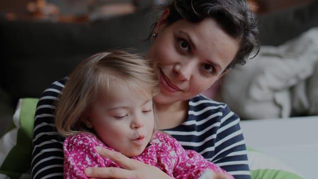 Iren und ihre Tochter Calista