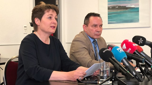23. April 2019: Franziska Roth verkündet ihren Austritt aus der SVP