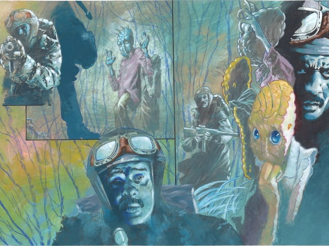 Eine Collage von «Emanon»