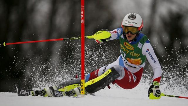 La skiunza svizra Wendy Holdener.