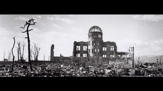 Hirsohima nach Atombombenabwurf