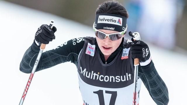 Nathalie von Siebenthal verpasst in Quebec die Punkte.