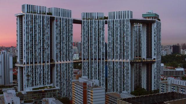 Video «Faszination Wolkenkratzer: Pinnacle@Duxton Singapur (4/4)» abspielen