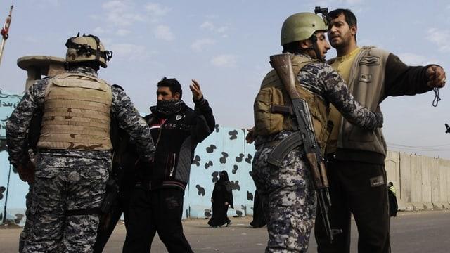 Kontrolle im Irak.