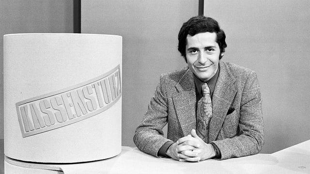 Roger Schawinski 1974 beim «Kassensturz»