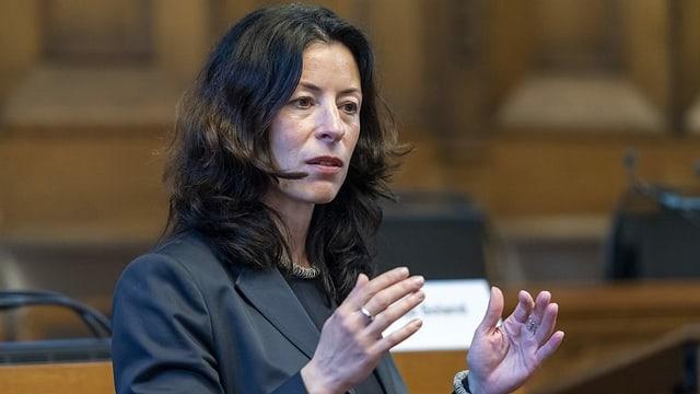 Tanja Soland (SP), Basler Finanzdirektorin