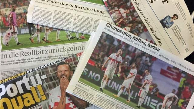 Die Schlagzeilen des Tages