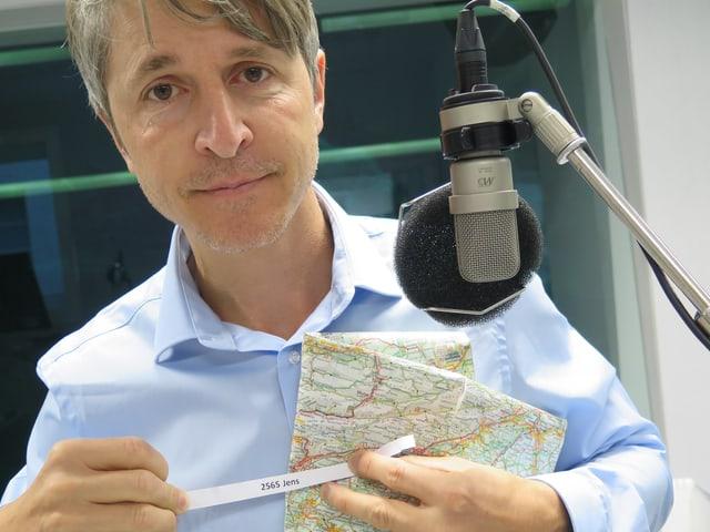 SRF-Reporter Matthias Baumer