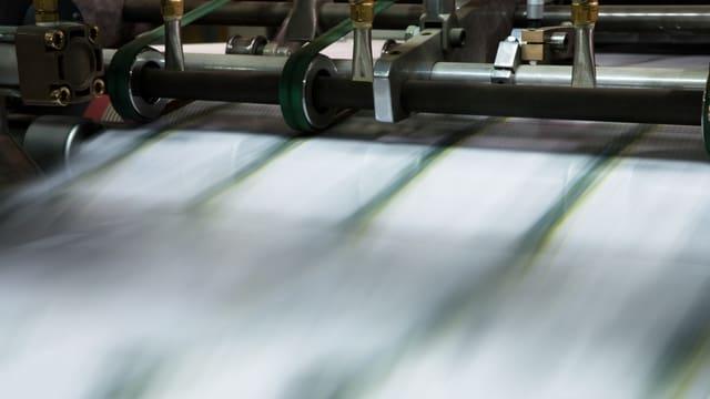 Symbolbild einer Druckmaschine