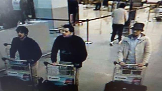 Drei Attentäter am Flughafen in Brüssel.