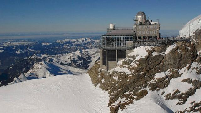 Vista sin il Jungfraujoch