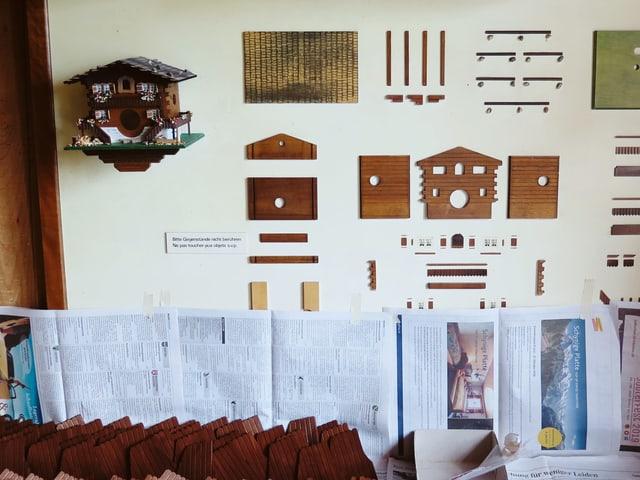 So sieht das Modell aus eines Hauses.