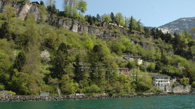 Häuser in der Horlaui in Weggis