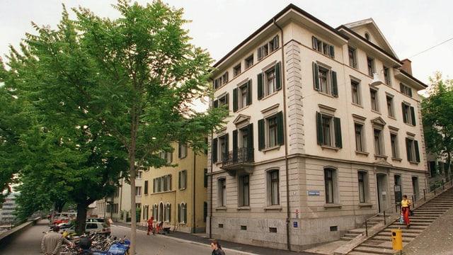 Das Gebäude des Archivs