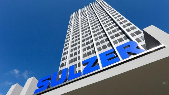Il bajetg dal concern d'industria Sulzer a Winterthur