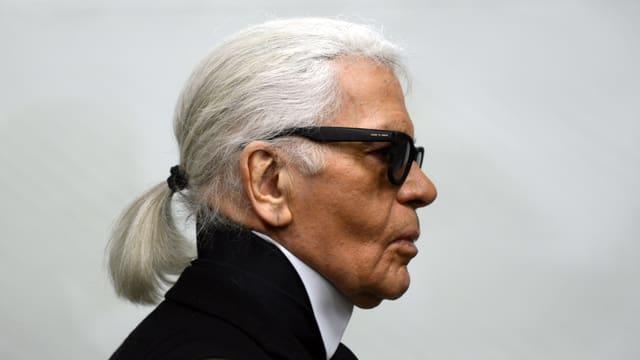 Karl Lagerfeld im Profil