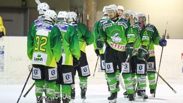 L'equipa actuala dal HC Partenz-Signuradi.