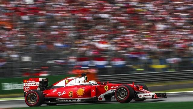 Ferrari da la furmla 1.