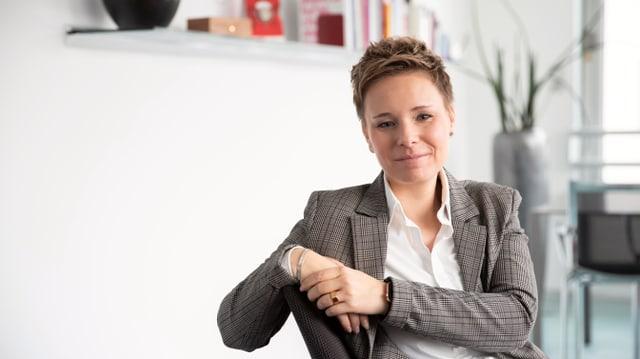 La directura da RTR Ladina Heimgartner
