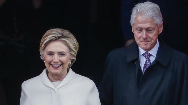 Hillary und Bill Clinton.