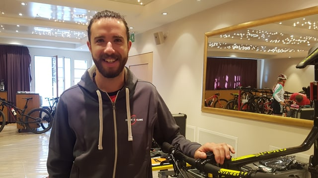Yanick Gyger è dapi il 2013 mecanist tar Swiss Cycling.
