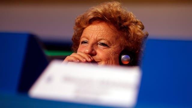 Justizministerin Annamaria Cancellieri