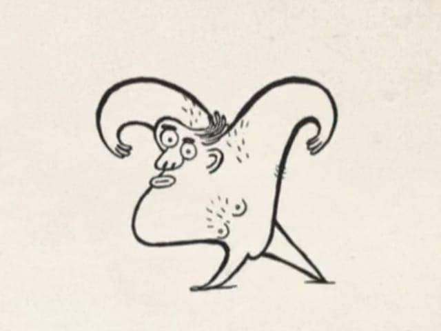 """Still aus dem Animationsfilm """"Evolution"""" von Mehdi Alibeygi."""