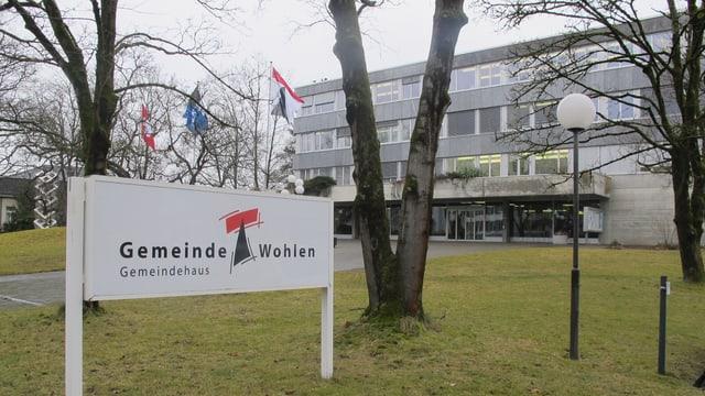 Gemeindehaus von aussen.